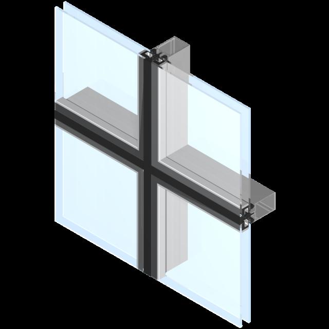 Façade, Mur rideau - Façade aluminium | Technal FR