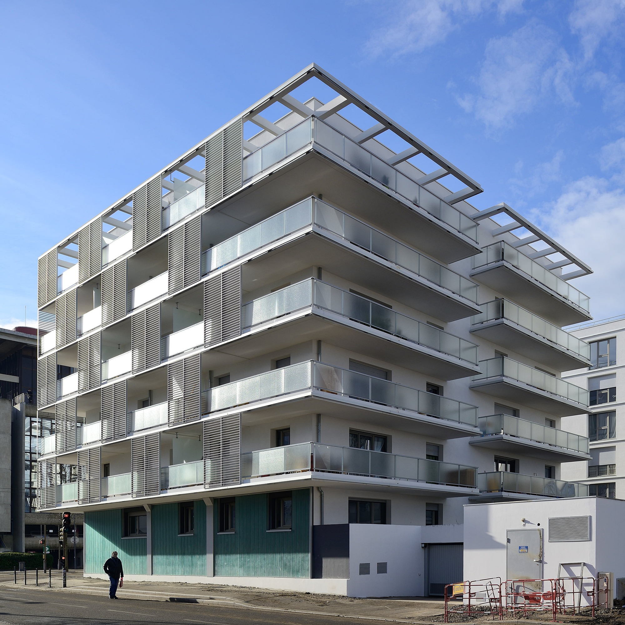 Logements collectifs Cap City