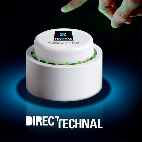TECHNAL LANCE SON BOUTON CONNECTÉ !