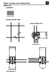 fa ade geode 52 aspect trame technal. Black Bedroom Furniture Sets. Home Design Ideas