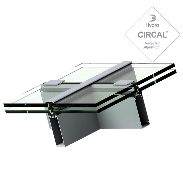 coner angle spinal rooflight