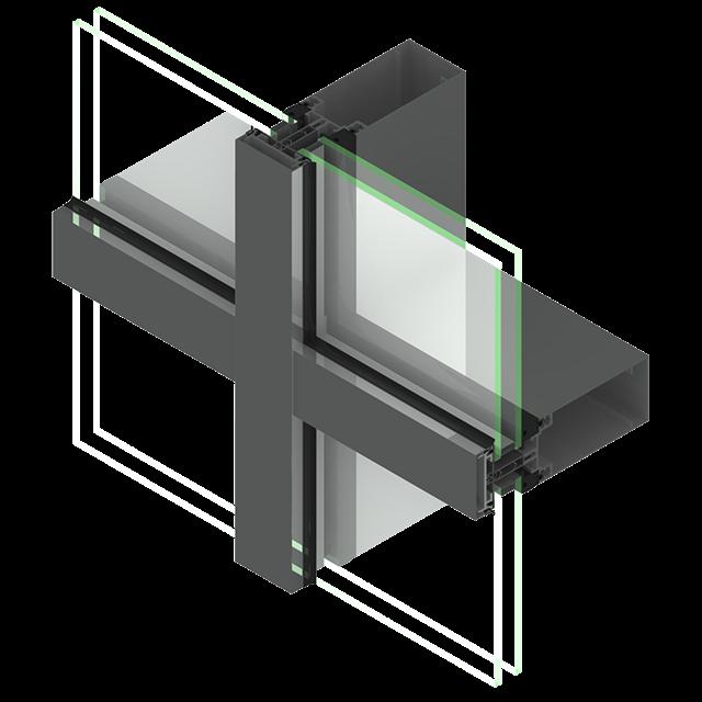 fa ade mur rideau fa ade aluminium technal fr. Black Bedroom Furniture Sets. Home Design Ideas