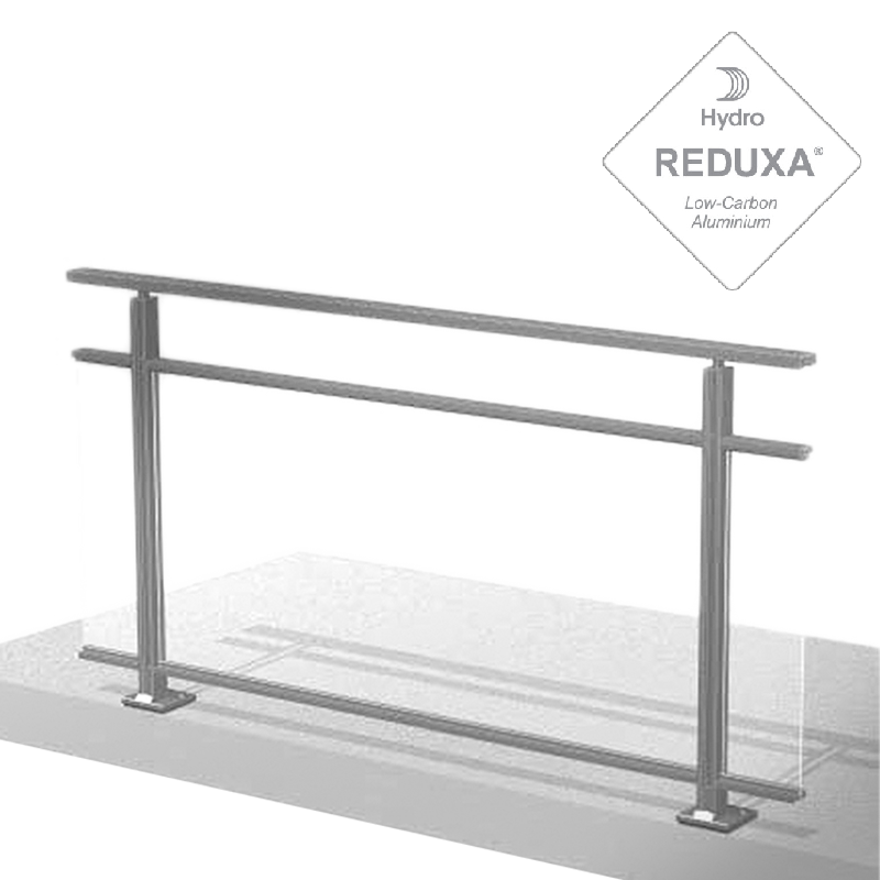 Garde corps main courante balcon et barriere piscine en for Barriere piscine verre inox
