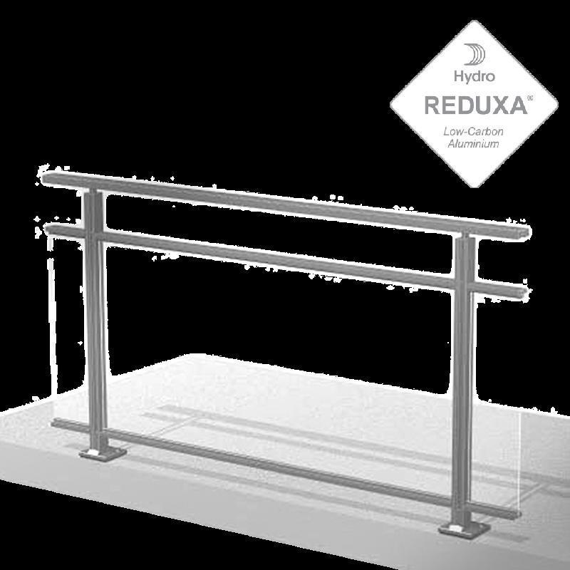 garde corps main courante balcon et barriere piscine en aluminium technal fr. Black Bedroom Furniture Sets. Home Design Ideas