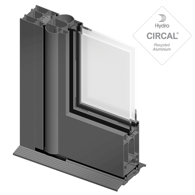 Door SOLEAL PY55 tube