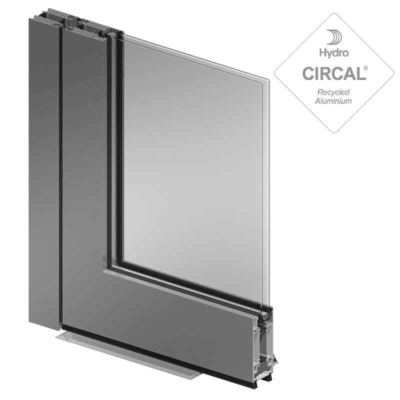 door SOLEAL PY55 double action