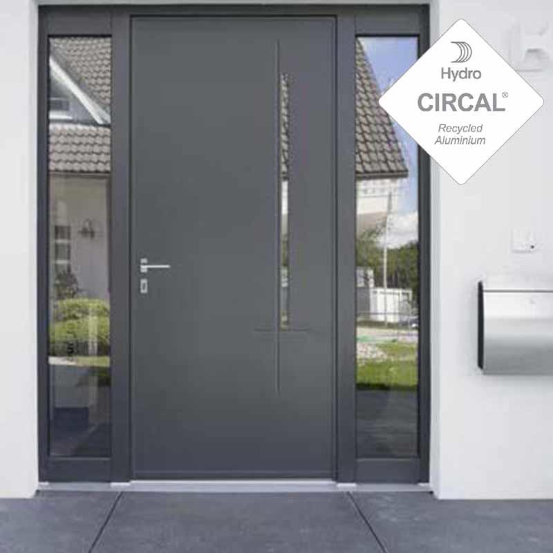 la porte universelle soleal 55 série froide   technal