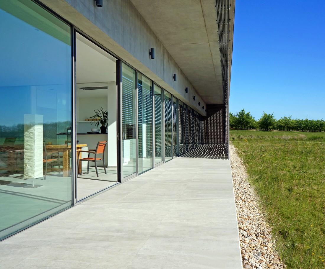 Baie vitr e coulissante aluminium technal - Baie vitree coulissante aluminium ...