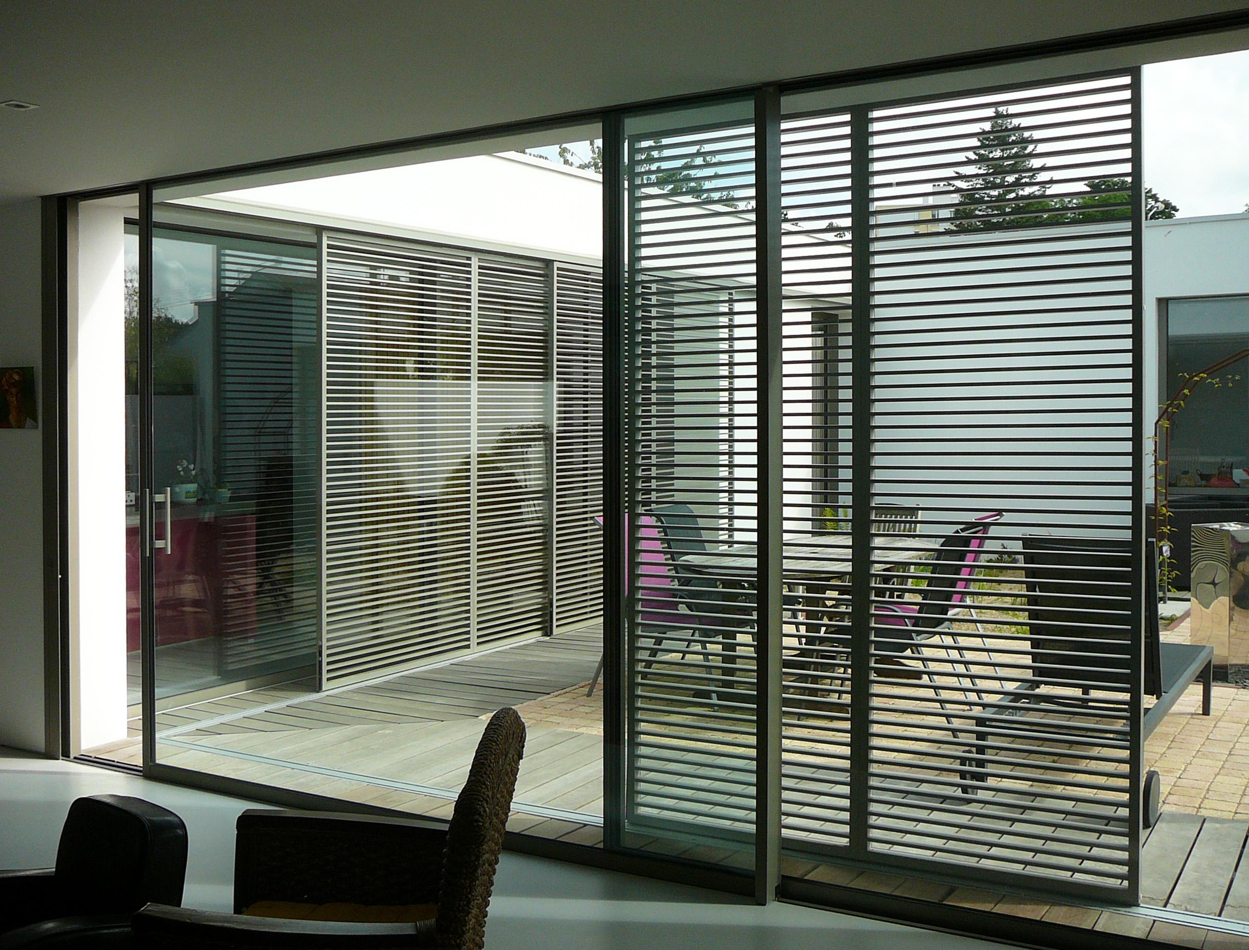 great crdit architecte a a l s m l annie lebeaupin with panneau brise vue design. Black Bedroom Furniture Sets. Home Design Ideas