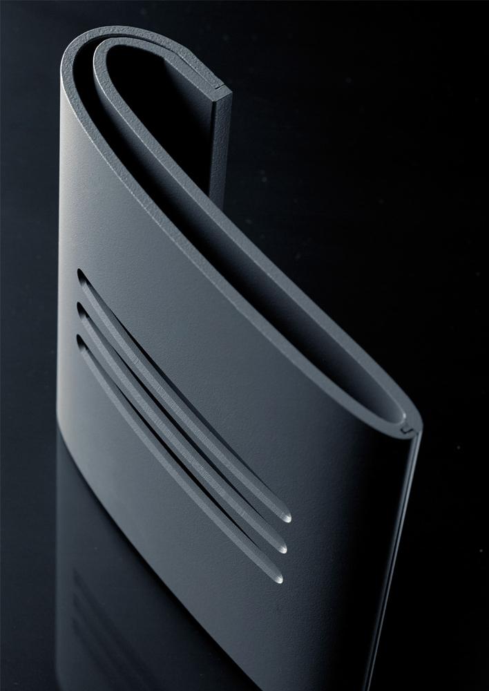 Poign e de porte d 39 entr e en aluminium technal Porte d entree technal