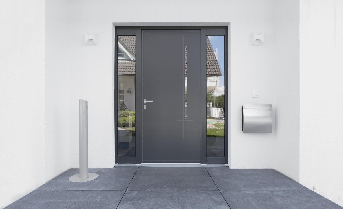 Porte d entr e monobloc alu soleal technal for Reparation porte d entree