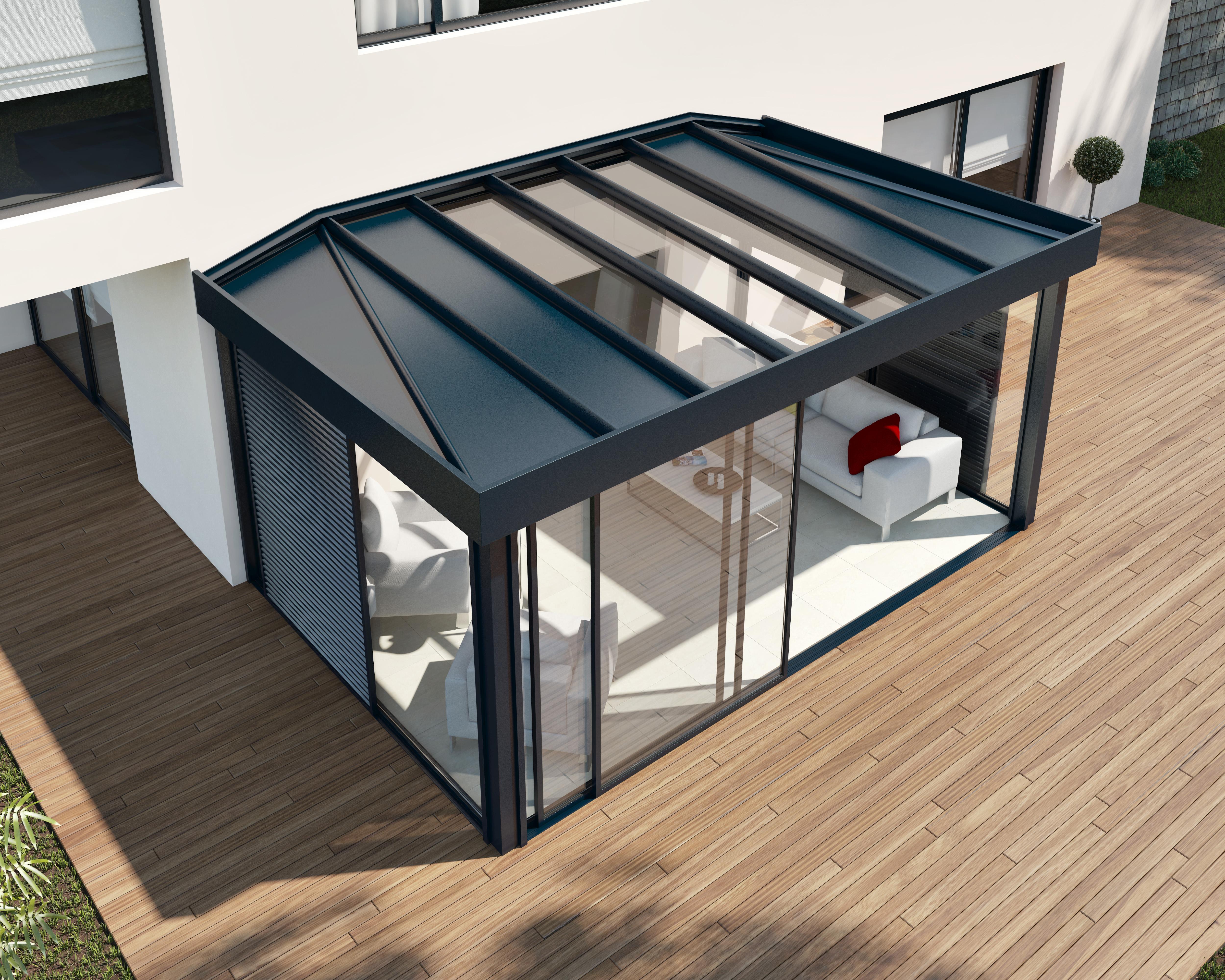 veranda technal. Black Bedroom Furniture Sets. Home Design Ideas
