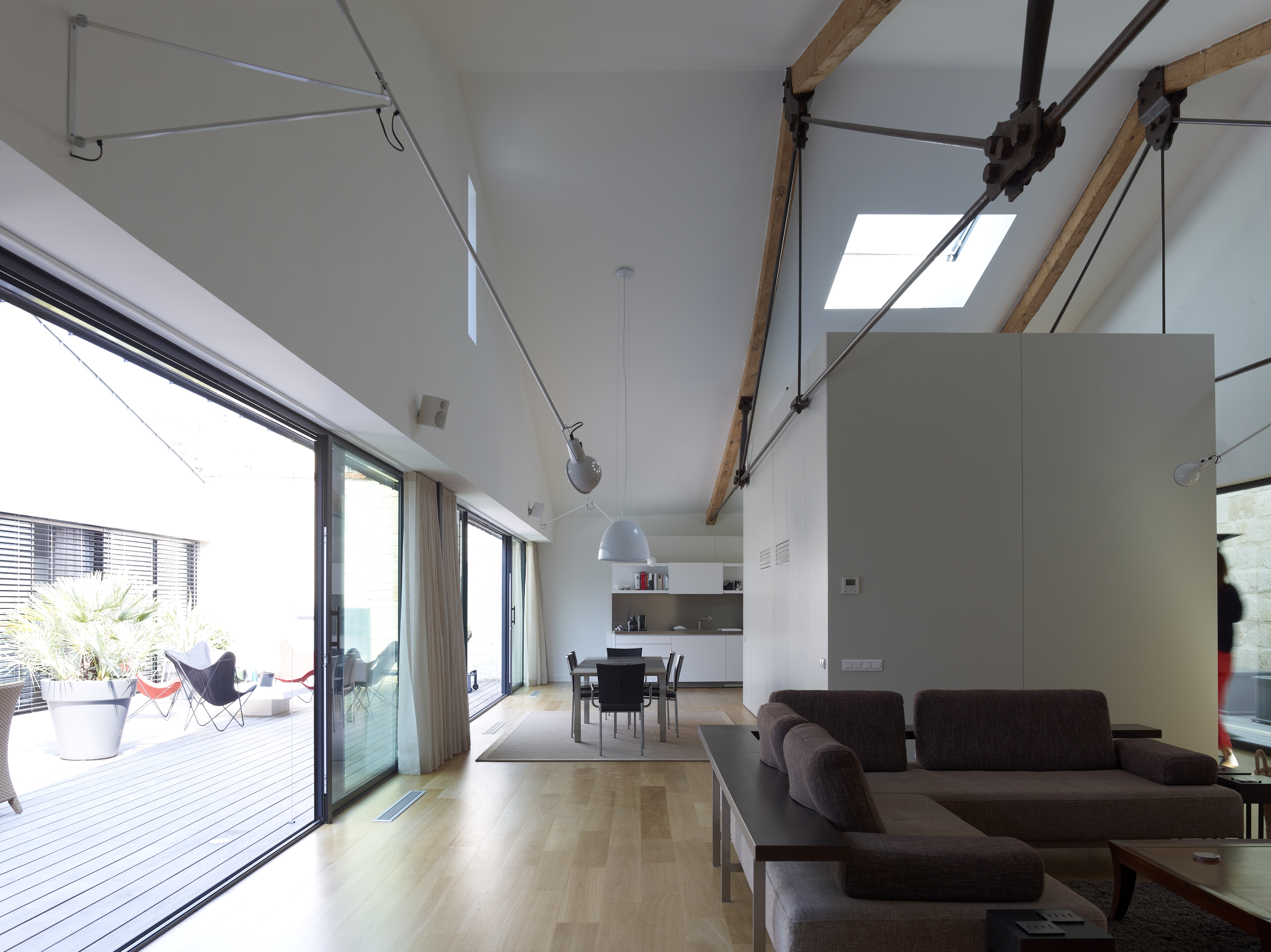 r novation ancien b timent de bureau r novation technal. Black Bedroom Furniture Sets. Home Design Ideas