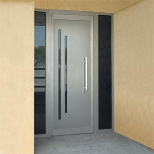 Portas - Modelos de puertas de aluminio para exterior ...