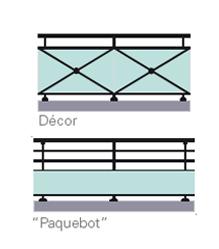Balcon gypse simple poteau technal for Decor barreaudage fenetre