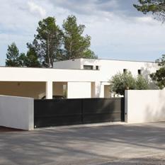 Les portails cl tures et barri res de piscine - Cloture pour maison contemporaine ...