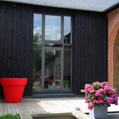 Les portes d 39 entr e technal for Peindre fenetre aluminium