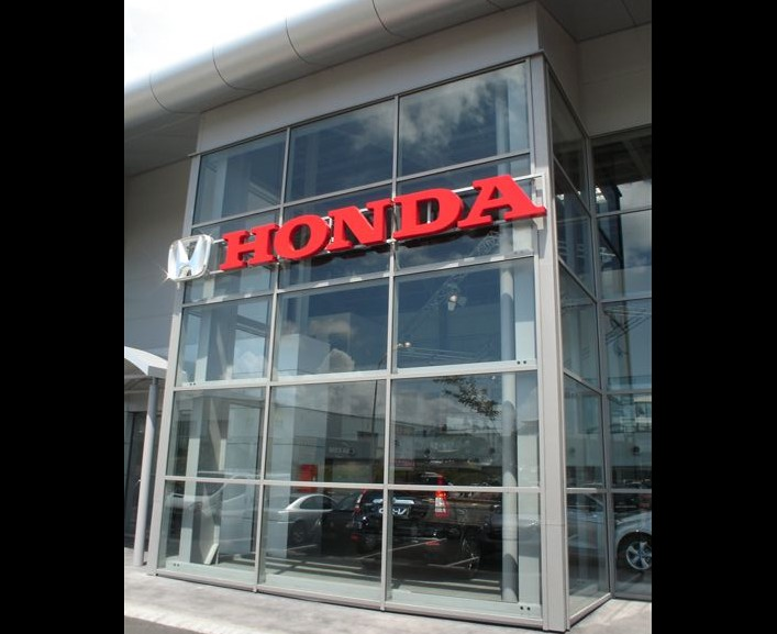 Car showroom SEAT/HONDA, Guadeloupe