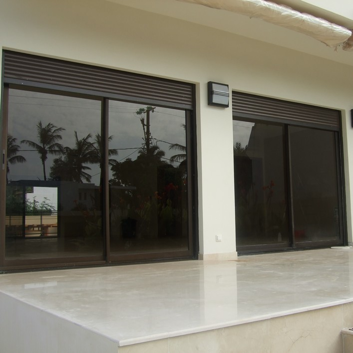 Technal sliding system