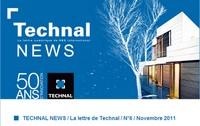 Technal News Novembre 2011