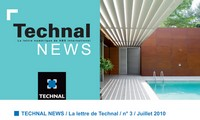 Technal News Juillet 2010