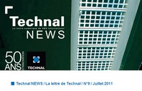 Technal News Juillet 2011