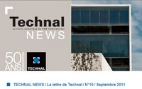 Technal News Septembre 2011