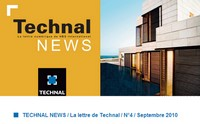 Technal News Septembre 2010