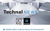 Technal News Novembre 2010