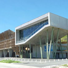Nouméa, New Caledonia : The University extension