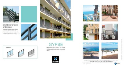Gypse balustrade