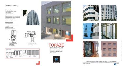 Topaze product brochure