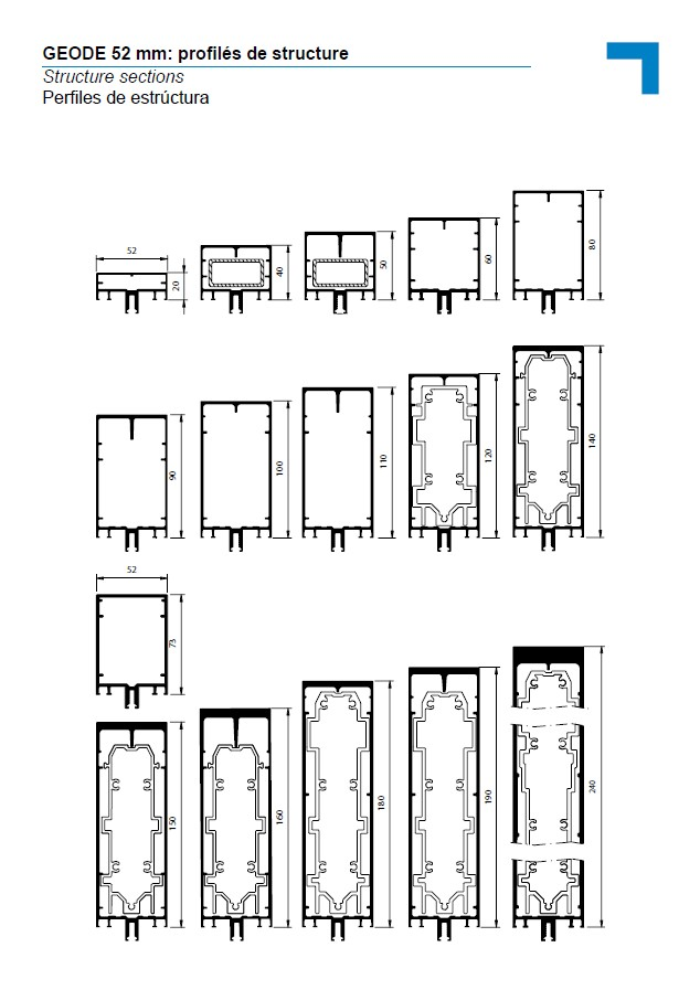 MX Structure sections