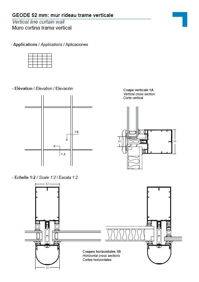 mx vertical line curtain wall. Black Bedroom Furniture Sets. Home Design Ideas