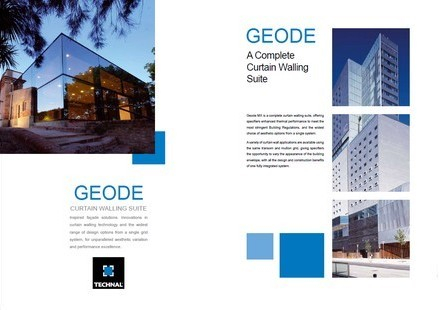 Geode curtain wall