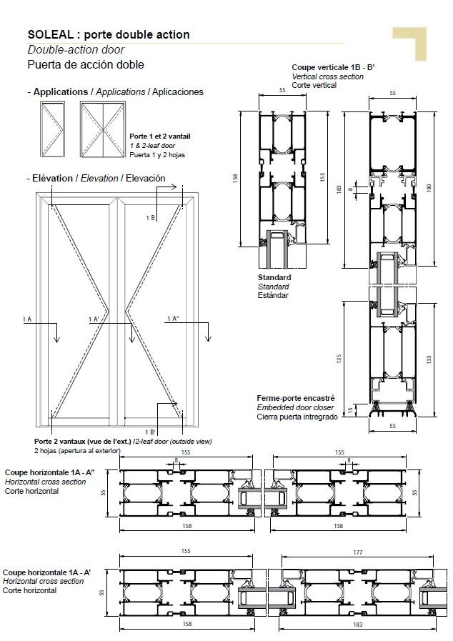 sc 1 st  TECHNAL & PY double-action door