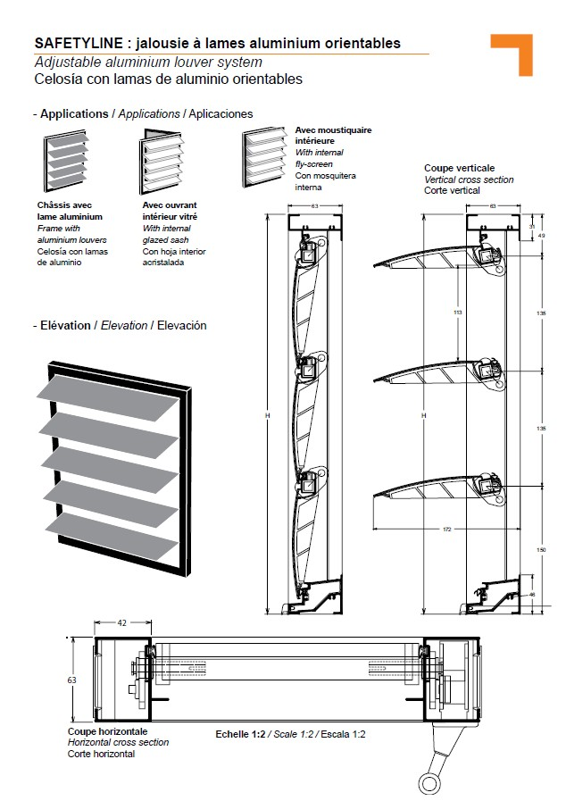 jx adjustable aluminium louvers jalousie. Black Bedroom Furniture Sets. Home Design Ideas