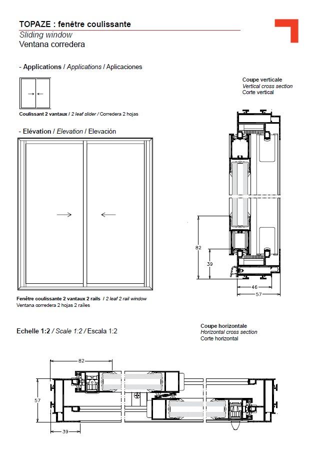 Gb sliding window for Section window design