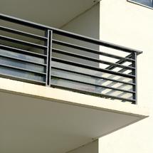 Les garde corps for Comgarde corps en bois pour balcon