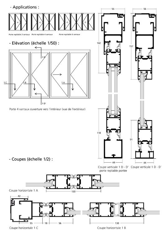Ppm porte repliable multi vantaux for Les portes logiques pdf