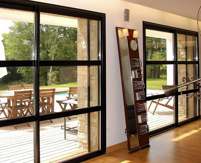 ouvrants galb s porte fen tre coulissante 3 et 6 vantaux sur 3 rails gxi. Black Bedroom Furniture Sets. Home Design Ideas