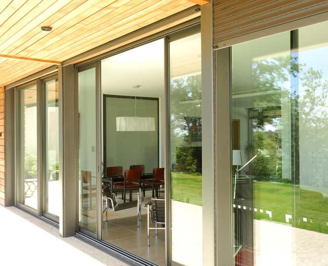 porte fen tre coulissante en galandage 2 vantaux sur 2 rails. Black Bedroom Furniture Sets. Home Design Ideas