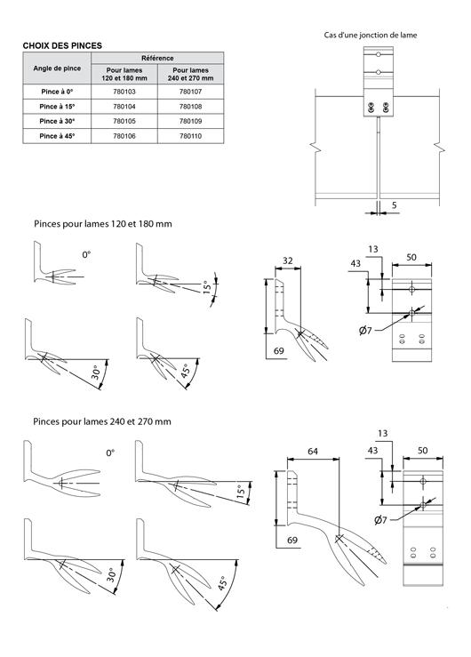 brise soleil lames monoblocs de 120 mm 270 mm choix. Black Bedroom Furniture Sets. Home Design Ideas