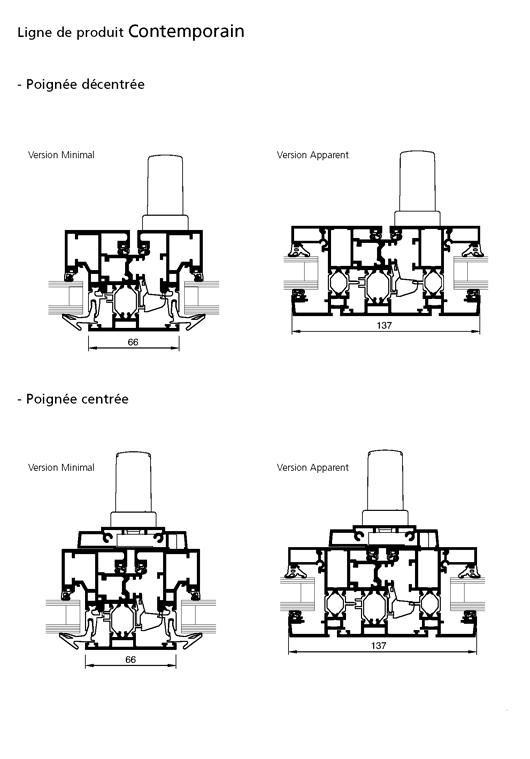 fen tre rupture de pont thermique ligne de produit. Black Bedroom Furniture Sets. Home Design Ideas