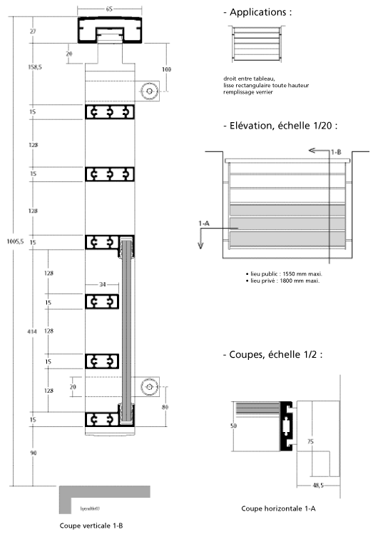 entre tableau lisse toute hauteur. Black Bedroom Furniture Sets. Home Design Ideas