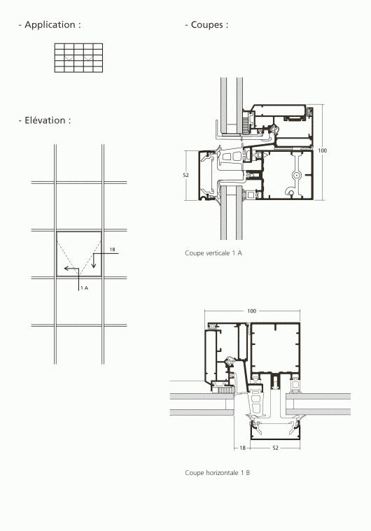 mur rideau ouvrant cach l italienne. Black Bedroom Furniture Sets. Home Design Ideas