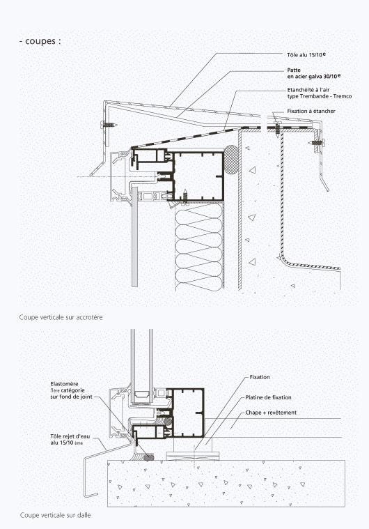 fixation haute sur acrot re sur dalle. Black Bedroom Furniture Sets. Home Design Ideas