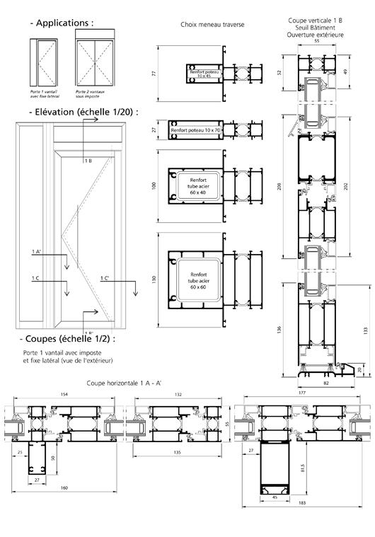 porte double action sur pivot ensemble menuisers. Black Bedroom Furniture Sets. Home Design Ideas
