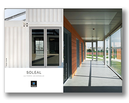 Documentation commerciale SOLEAL portes