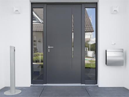 Soleal la porte monobloc Porte d entree technal